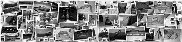 Stativfreak - Taschen und Stativtaschen und Transportmittel