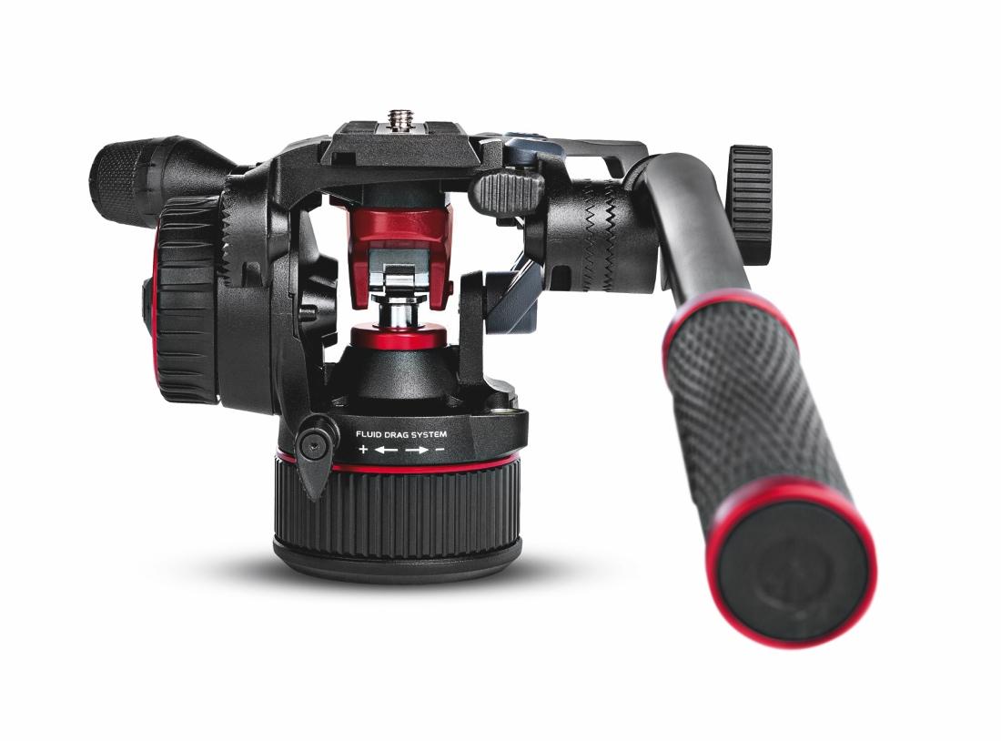 News von Manfrotto: Nitrotech N8 Fluid-Videokopf – Stativkopf mit Counterbalance-Technologie
