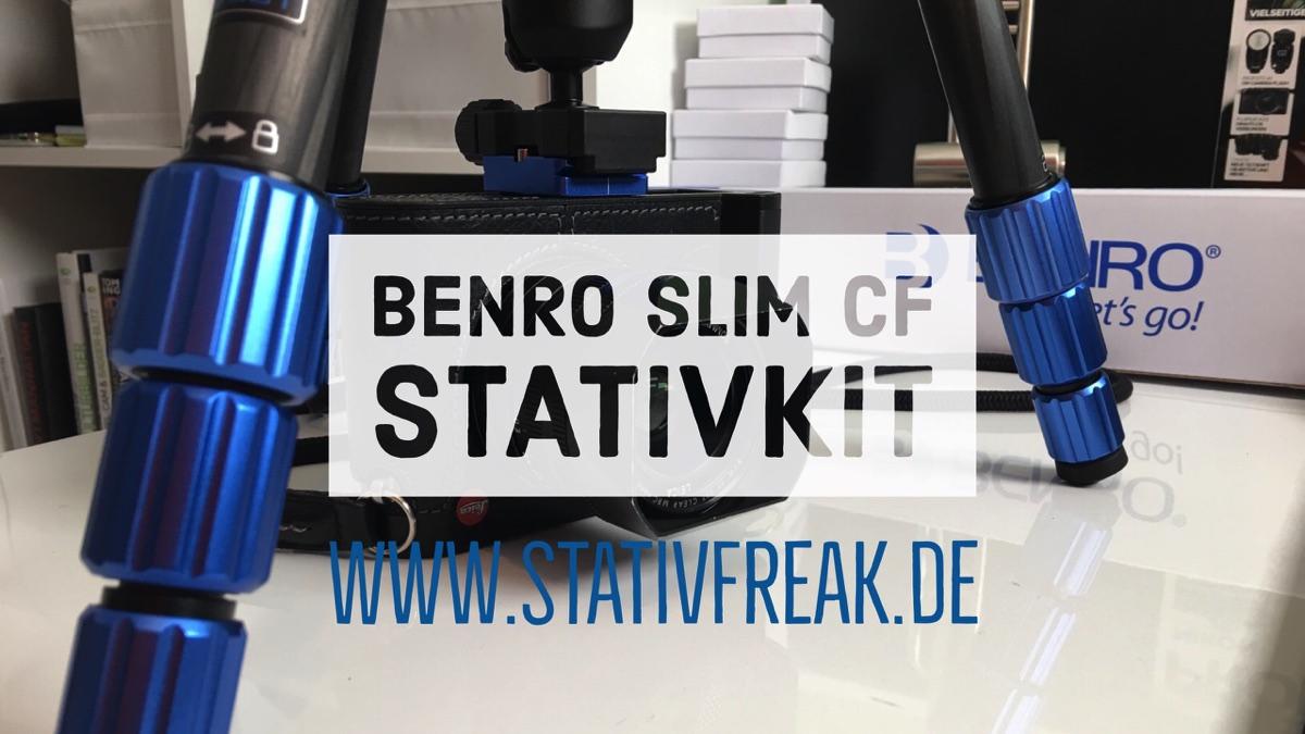BENRO Slim CF Stativkit Carbon in der näheren Betrachtung